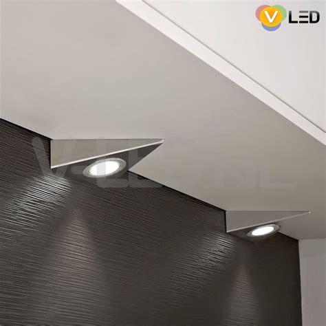 onderbouwspots keuken keuken driehoek led verlichting chrome dimaar v led nl