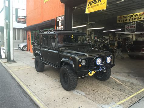 land rover modified 1995 modified land rover defender custom system in