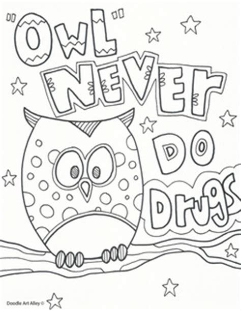 red ribbon week coloring pages and printables classroom