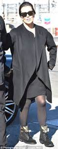 kris who turned 60 that day is set to celebrate her birthday on kris jenner cuts a youthful figure in all black a day