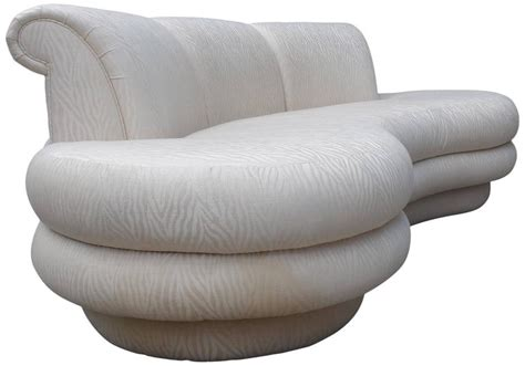 Curved Sofa Designs Adrian Pearsall Kidney Shaped Curved Sofa For Comfort Designs At 1stdibs