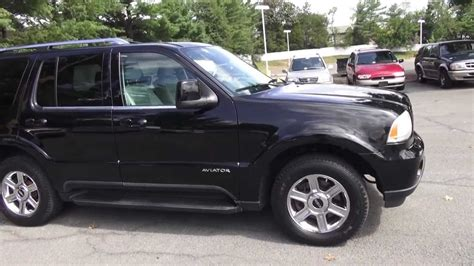 lincoln aviator 2005 lincoln aviator pictures information and specs