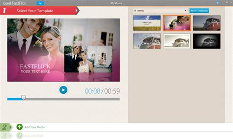 Fastflick Instant Slideshow Maker Discovery Center Store Corel Fastflick Templates