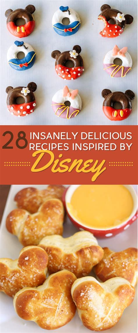 diy food 28 disney inspired recipes you to try disney
