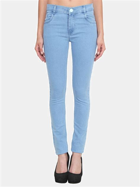 light blue pants womens crease clips slim women s light blue jeans buy crease