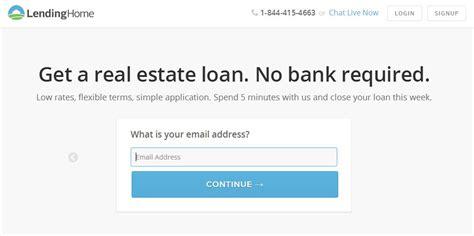 get a real estate loan via lendinghome nextbigproduct net