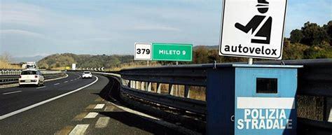 autovelox mobili autostrada autostrada senza tutor tornano gli autovelox repubblica it
