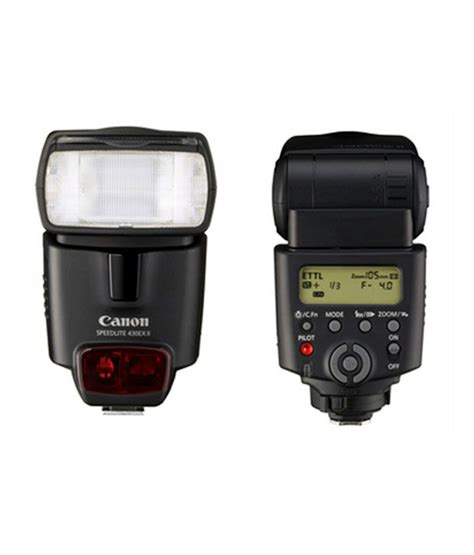 Canon Flash 430ex Ii Hitam canon 430ex ii speedlite flash 2805b005aa price in india