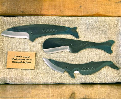 Custom Made Kitchen Knives Whale Shaped Knife