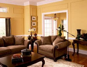 Color can make a small room feel more spacious while a darker color