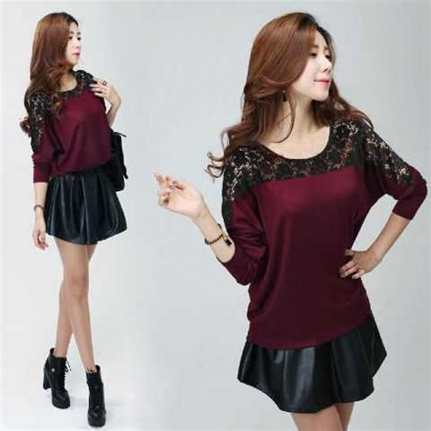 Blouse Button Atasan Baju Wanita blouse casual murah collar blouses