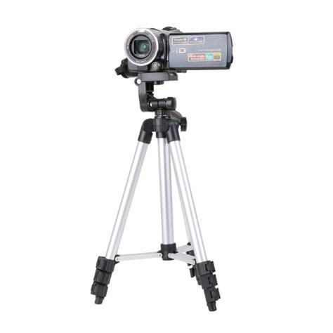 Tripod Camcorder lightweight aluminum professional telescopic tripod stand holder for dslr canon nikon