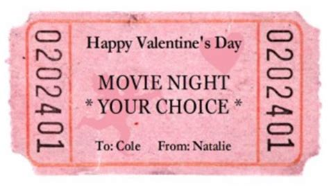 free printable valentine tickets 50 cute free printables for valentines day
