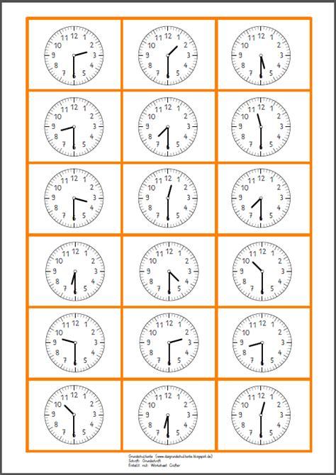 Uhr Ubungen