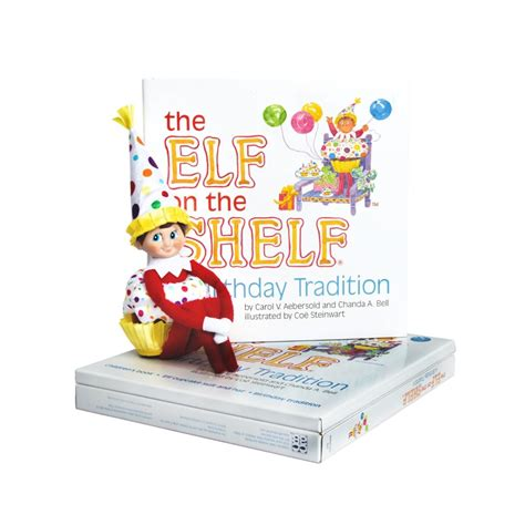 On The Shelf Birthday Tradition Book by On The Shelf Birthday Traditions Giveaway