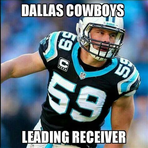 Luke Kuechly Meme - luuukkke panthers at cowboys thanksgiving game 2015