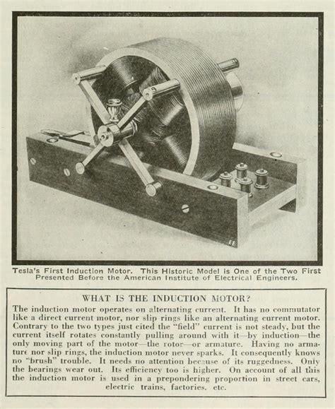 tesla electric induction motor nikola tesla autobiography page 2