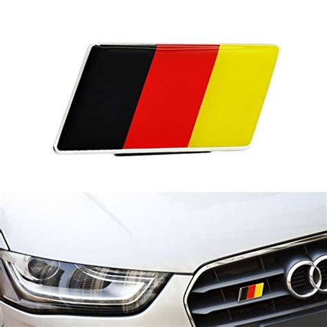 audi germany flag ijdmtoy 1 germany flag emblem badge fit germany car