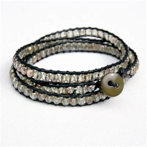 beaded wrap bracelet diy wrap bracelet tutorial crafts unleashed