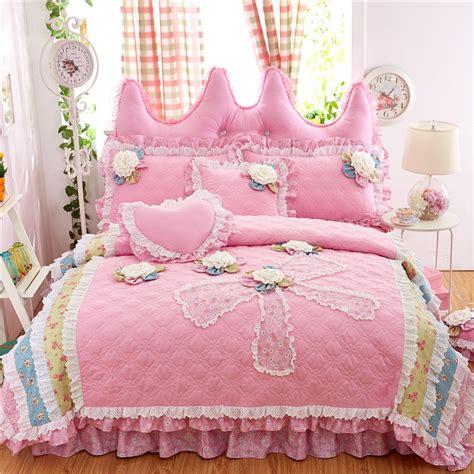 coton princesse style ensemble de literie 4 pcs