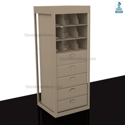 Letter Depth Revolving Filing Drawers Storage Shelves for Secure File Storage SMS 15 XLT FS1 A8