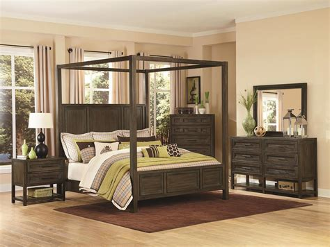 queen size canopy bedroom set rustic log queen size canopy bed suntzu king bed
