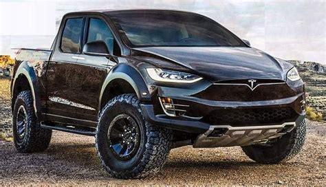 elon musks top priority  tesla model p pickup truck