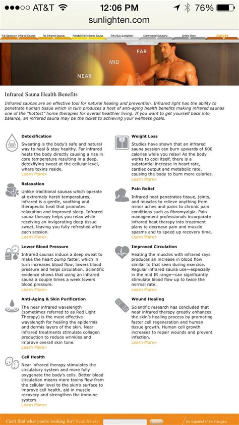 near infrared light benefits best 25 infrared sauna benefits ideas on pinterest