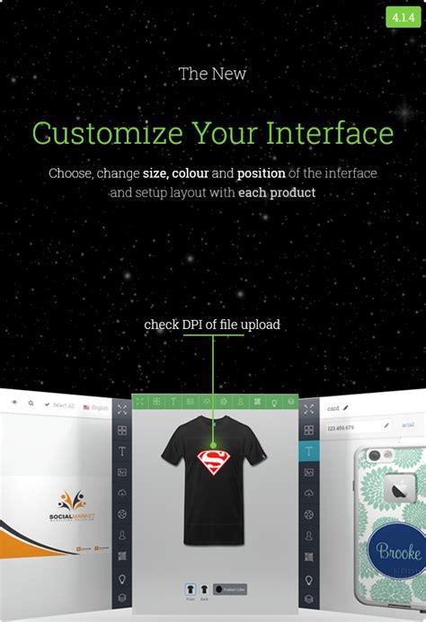 woocommerce custom product designer by dangcv codecanyon