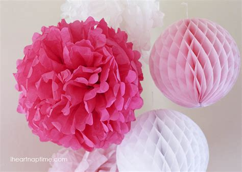 Make Tissue Paper Flower - how to make tissue paper flowers i nap time