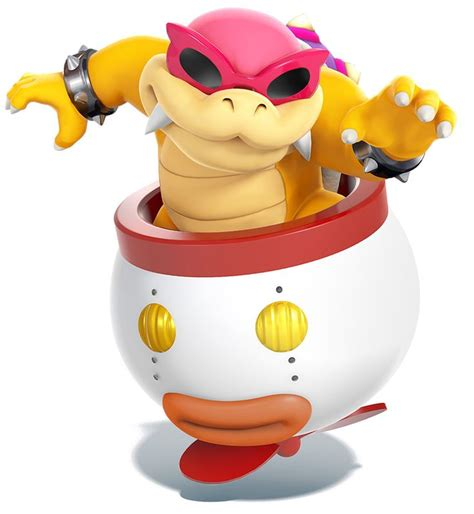 roy koopa characters smash bros for 3ds