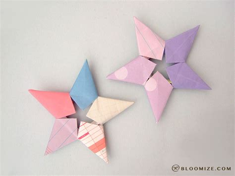Origami Starfish - galaxy of origami bloomize