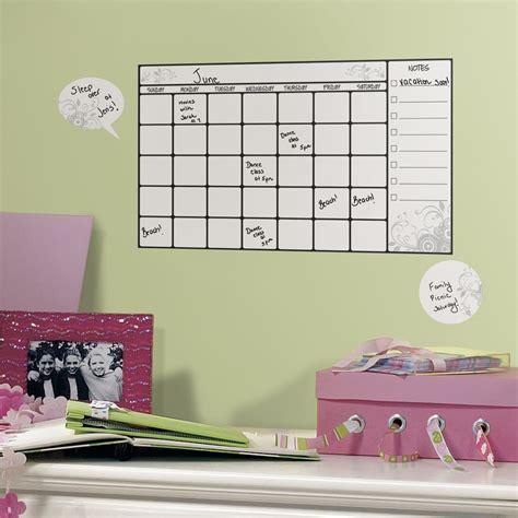 Erase Calendar Decal Erase Calendar Wall Decal Set Of 7 In Erase Boards