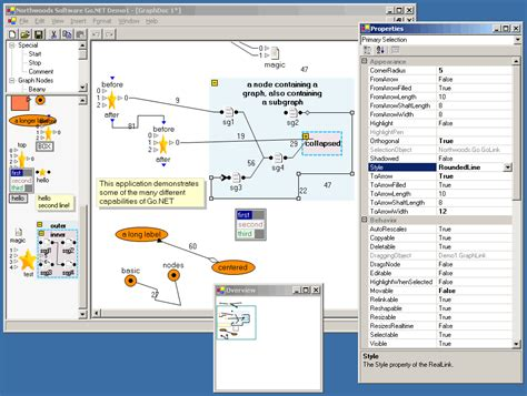 interactive diagram software godiagram window northwoods software corporation