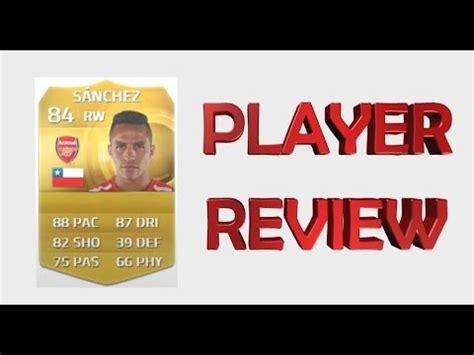 alexis sanchez futhead fifa 15 ultimate team alexis sanchez 84 rated player