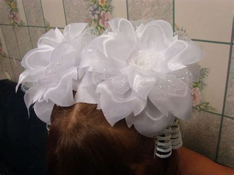 organza bow tutorial 17 best images about fabricando flores on pinterest