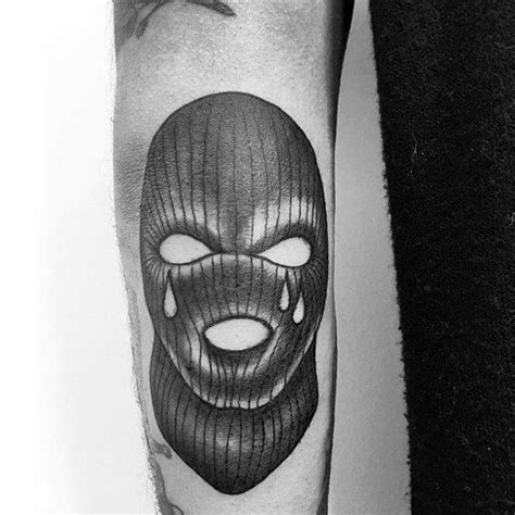 ski mask tattoo 30 ski mask designs for masked ink ideas