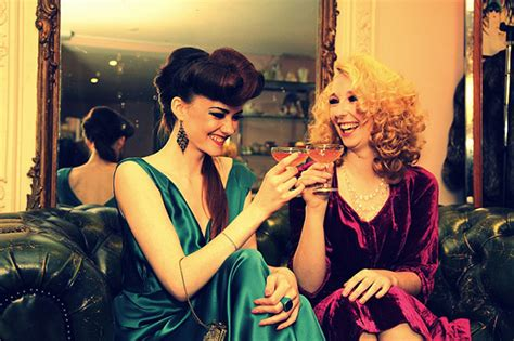 vintage christmas cocktail party very vintage style hen party ideas onefabday com