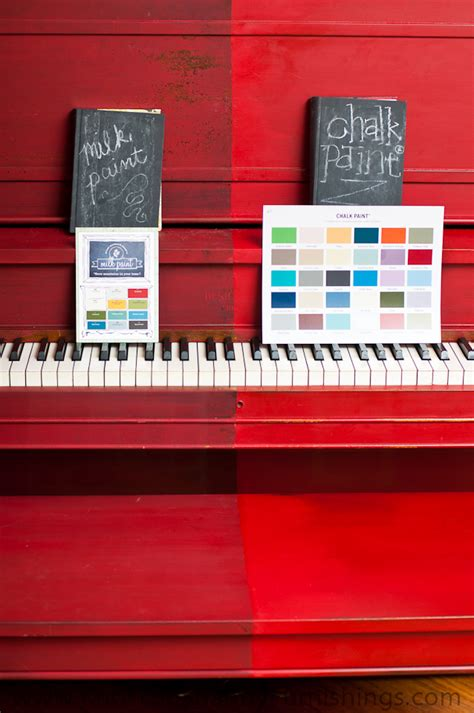chalk paint vs chalkboard paint the piano painted in milk paint and chalk paint