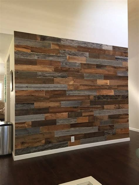 shop artis wall authentic reclaimed wood planks walls - Reclaimed Wood Planks For Walls