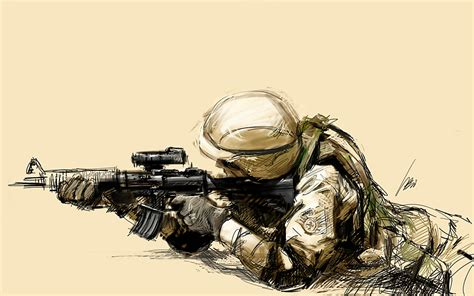 Hotpen Army soldier drawing buscar con ilustration army and drawings