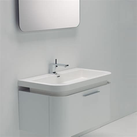 contemporary bathroom sink units vos white wall mounted designer bathroom