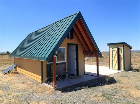 Desert Cottage by Andrew S Desert Tiny Cabin Tiny House Swoon