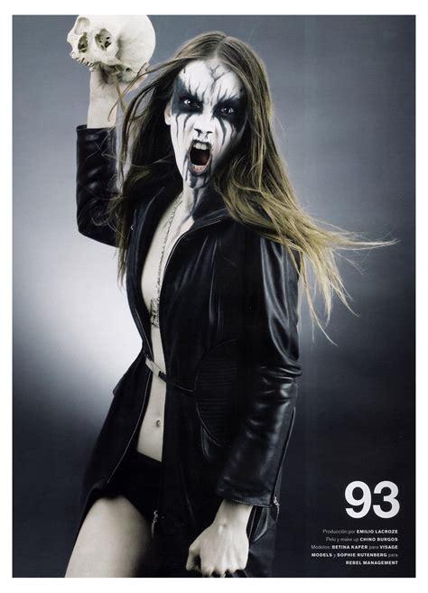 Sho Black Metal by Black Metal Barbies