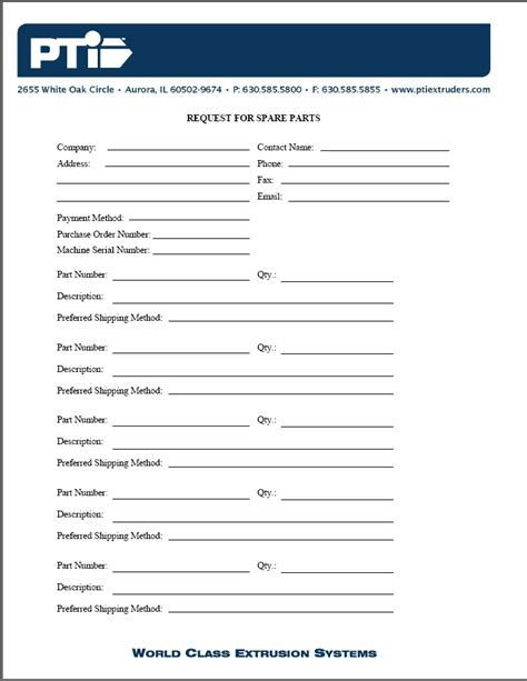 customer request form enter the pickup and delivery