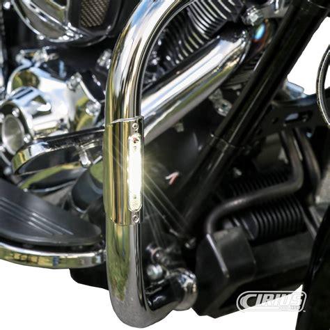 motorcycle highway bar led lights handlebar or rear bag guard led lights 1x3 75 1x3 75