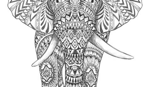 coloring pages abstract elephant get this abstract elephant coloring pages 77421