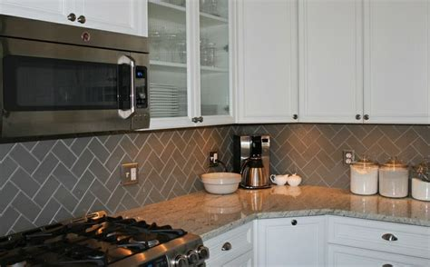 herringbone pattern backsplash tile the world s catalog of ideas