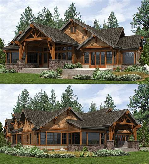 high end house plans plan 23610jd high end mountain house plan with bunkroom