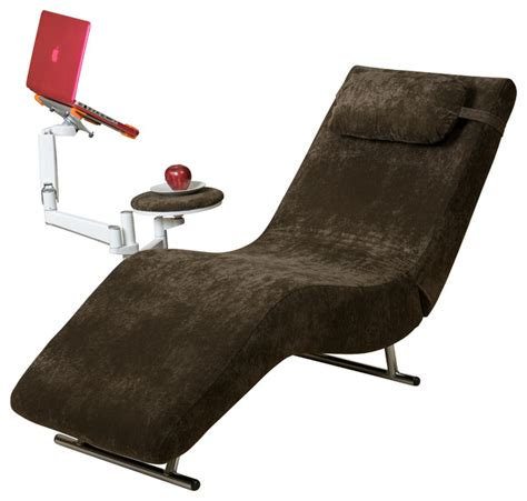 Adjustable Chaise Lounge Indoor Eason Velvet Adjustable Chaise Style Chair And Tablet Stand Indoor Chaise Lounge Chairs By